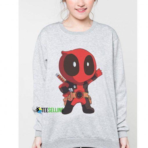 DeadPool Chibi Cheap Graphic Tees Sweatshirt