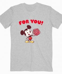 Disney Valentines T shirt Cute Graphic Tees T shirt Unisex Adult