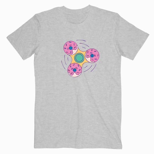 Donut Spinner Cute Graphic Tees T shirt Unisex Adult