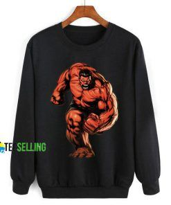 Red Hulk Marvel Comic Cheap Graphic Tees Sweatshirt Unisex Size S-3XL