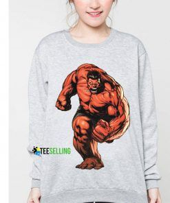 Red Hulk Marvel Comic Cheap Graphic Tees Sweatshirt Unisex Size S 3XL
