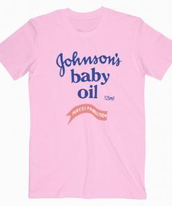 Johnsons Baby Oil Cute Graphic Cheap Graphic T shirt Unisex Adult