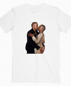 Kanye West Kissing HimSelf Cute Graphic Cheap T shirt Unisex Adult