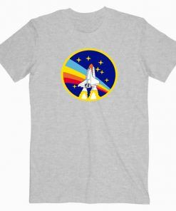 Nasa Space Rainbow Cute Graphic Cheap T shirt Unisex