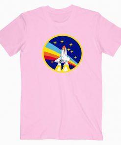 Nasa Space Rainbow Cute Graphic Cheap T shirt Unisex