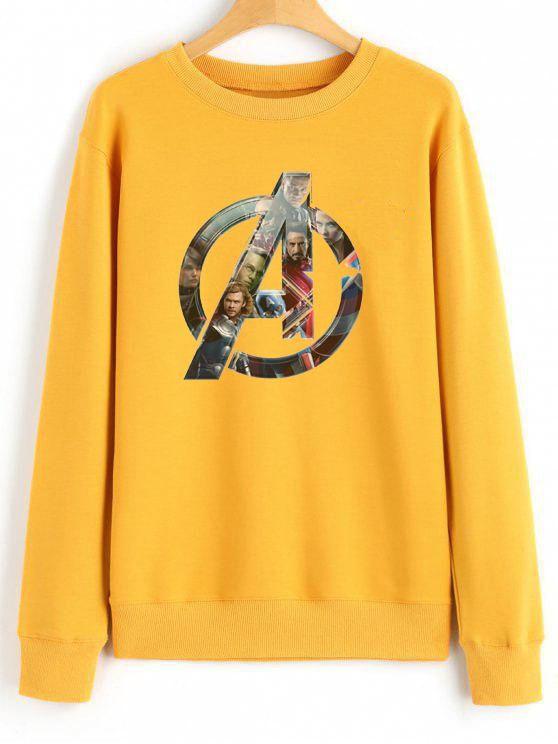 1e25a4021f98 Avengers Logo 1 Cheap Graphic Tees Sweatshirt Unisex