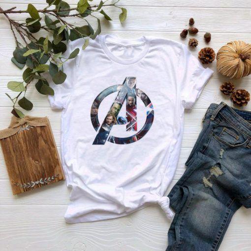 Avangers EndGame Logo 1 Cute Graphic Cheap T shirt Unisex