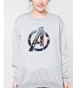 Avengers Logo 1 Cheap Graphic Tees Sweatshirt Unisex