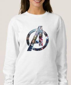 Avengers Logo 1 Cheap Graphic Tees Sweatshirt Unisex