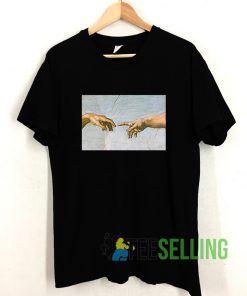 Michelangelo Hand T shirt Unisex Adult Size S-3XL