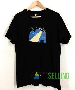 Alien Contact T shirt Unisex Adult Size S-3XL