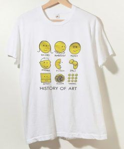 History Of Art T shirt Unisex Adult Size S-3XL