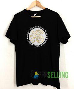 Lesbian Space Criminal T shirt Unisex Adult Size S-3XL
