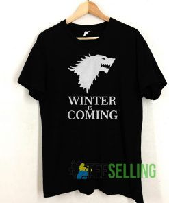 Mens Winter is Coming T shirt Unisex Adult Size S-3XL