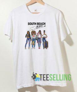 Miami South Beach 2019 T shirt Unisex Adult Size S-3XL