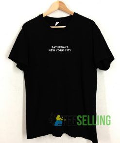 Saturdays New york City T shirt Unisex Adult Size S-3XL
