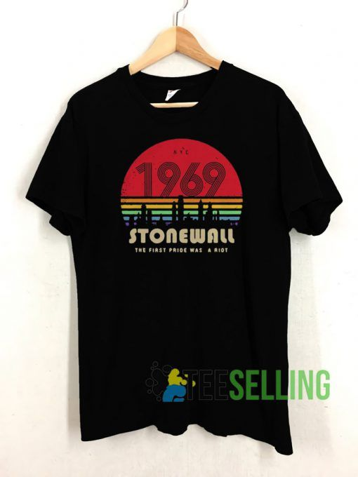 1969 stonewall T shirt Unisex Adult Size S 3XL