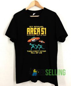 1st Annual Area 51 T shirt Adult Unisex Size S-3XL
