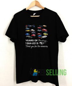 55 Years Of Mustang Unisex Adult Size S-3XL