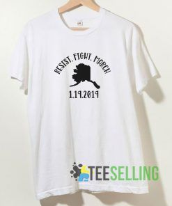 Alaska March T shirt Unisex Adult Size S-3XL