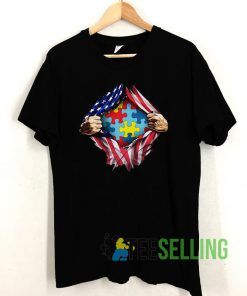 Autism inside me Independence day T shirt Unisex Adult Size S-3XL