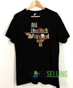 Bookshelf Texas Unisex Adult Size S-3XL