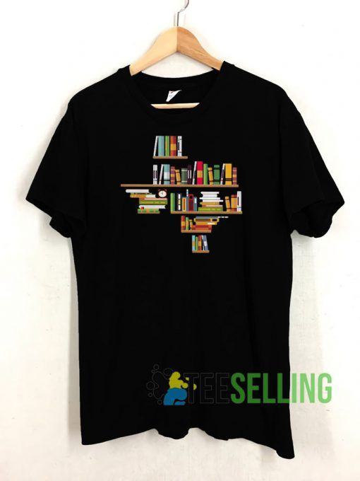 Bookshelf Texas Unisex Adult Size S 3XL