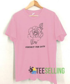 Conect The Dots Rose Unisex Adult Size S-3XL