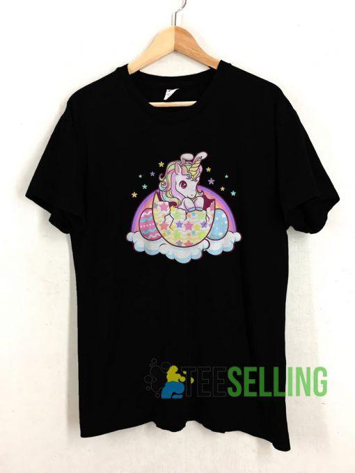 Easter Unicorn T shirt Adult Unisex Size S 3XL