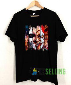 Freddy Krueger Jigsaw T shirt Adult Unisex Size S-3XL