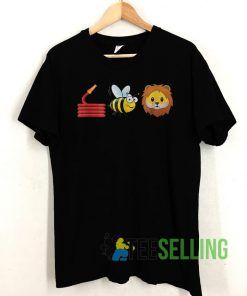 Hose Bee and Lions cute T shirt Unisex Adult Size S-3XL