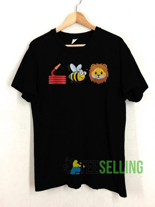 Hose Bee and Lions cute T shirt Unisex Adult Size S 3XL