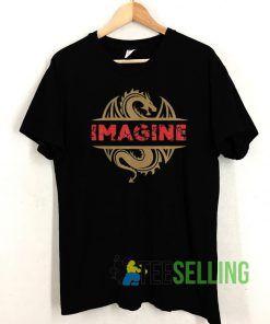 IMAGINE Fantasy Dragon Style T shirt Unisex Adult Size S-3XL