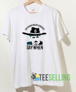 Im Your Huckleberry Gardner Minsew T shirt Adult Unisex Size S-3XL