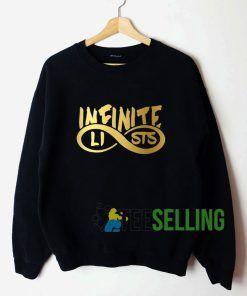 Infinite Lists Sweatshirt Unisex