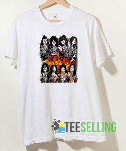 Kiss Band Paul Stanley T shirt Adult Unisex Size S-3XL
