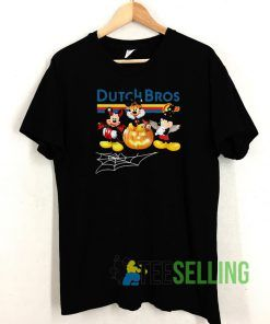 Mickey Mouse Dutch Bros Unisex Adult Size S-3XL