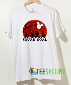 Mickey and Friends Squad Goals T shirt Unisex Adult Size S-3XL