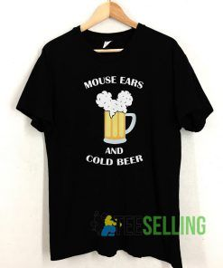 Mickey ears T shirt Unisex Adult Size S-3XL