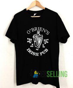 Obriens Irish PUB T shirt Adult Unisex Size S-3XL
