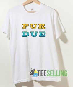 Purdue Yellow And Blue T shirt Adult Unisex Size S-3XL