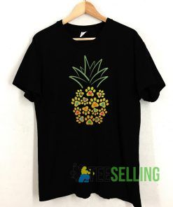 Puzzle Paw Pineapple T shirt Unisex Adult Size S-3XL