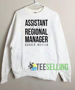 Regional Manager Dunder Mifflin Sweatshirt Unisex