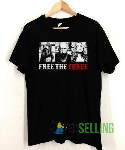 Rob Zombie Free The Three Unisex Adult Size S-3XL