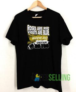 Roses Are Red Violets T shirt Unisex Adult Size S-3XL