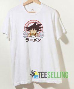 Saiyan Ramen Sublimation T shirt Unisex Adult Size S-3XL