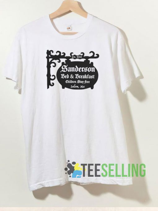 Sanderson Bed And Breakfast T shirt Unisex Adult Size S 3XL