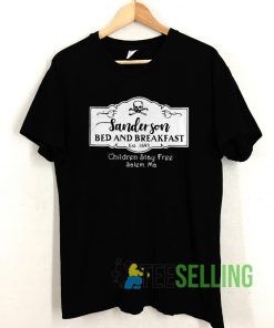 Sanderson Bed and Breakfast est 1963 T shirt Unisex Adult Size S-3XL