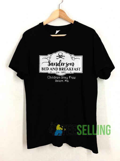 Sanderson Bed and Breakfast est 1963 T shirt Unisex Adult Size S 3XL