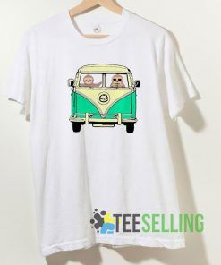 Sloth Driving Van T shirt Adult Unisex Size S-3XL